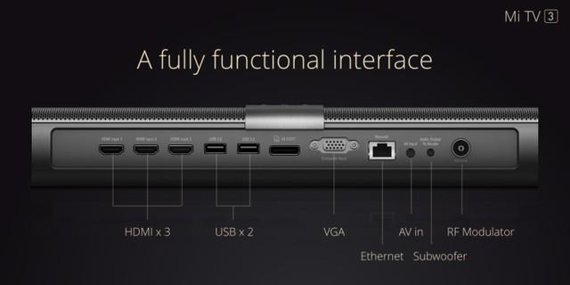 Xiaomi Mi TV 3 60 inch - 4K 8