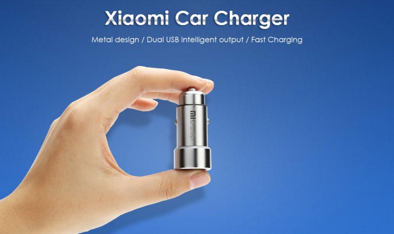 Sạc ô tô Xiaomi Steel
