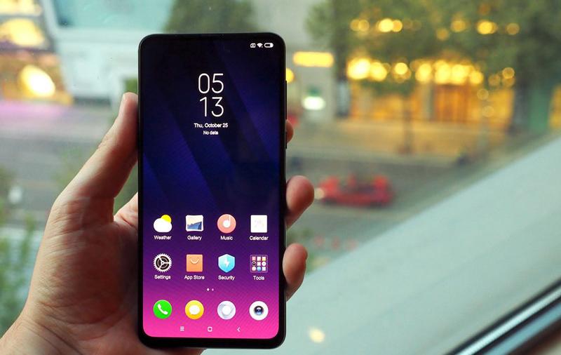 Chất lượng hiển thị trên Xiaomi MI MIX 3 chính hãng