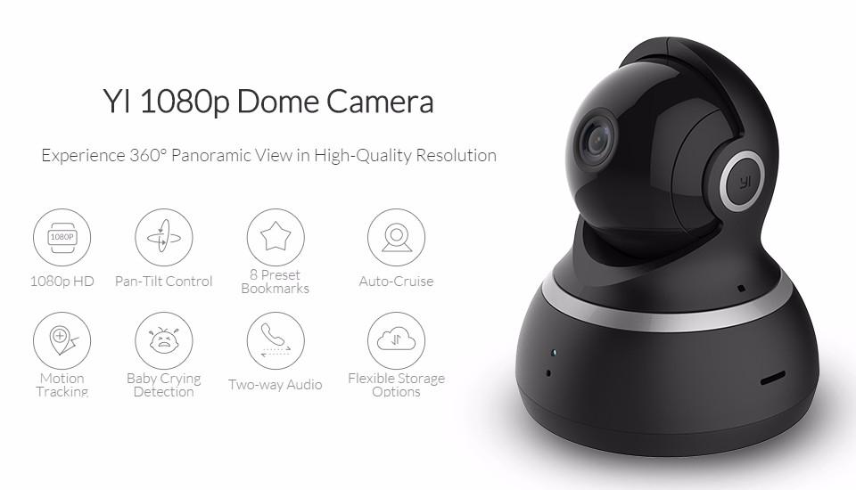 Camera gia đình Xiaomi YI Dome 1080P (1)
