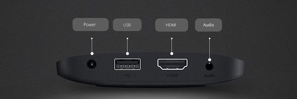 Mi Box S 4K Ultra HD Set-top Box - Chính Hãng Digiworld