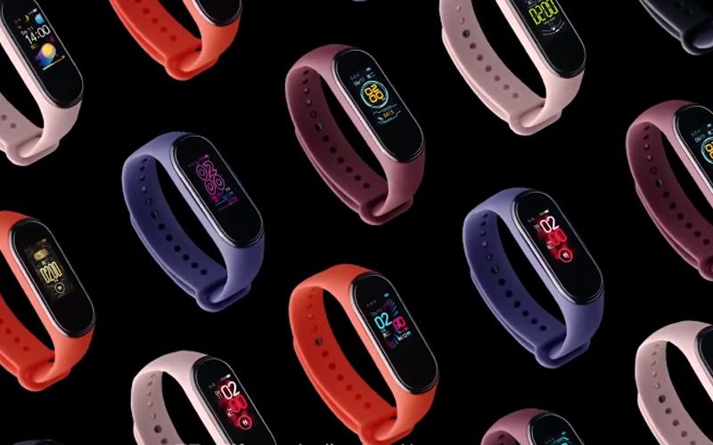Mi Band 4 thiết kế đa sắc màu