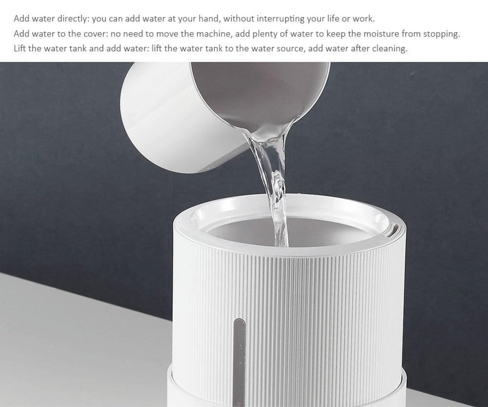 Deerma DEM - Máy tạo độ ẩm làm sạch công suất lớn SJS600 5L từ Xiaomi Youpin- White