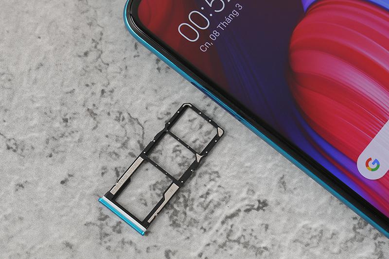 Điện thoại Redmi Note 9s | Khay sim