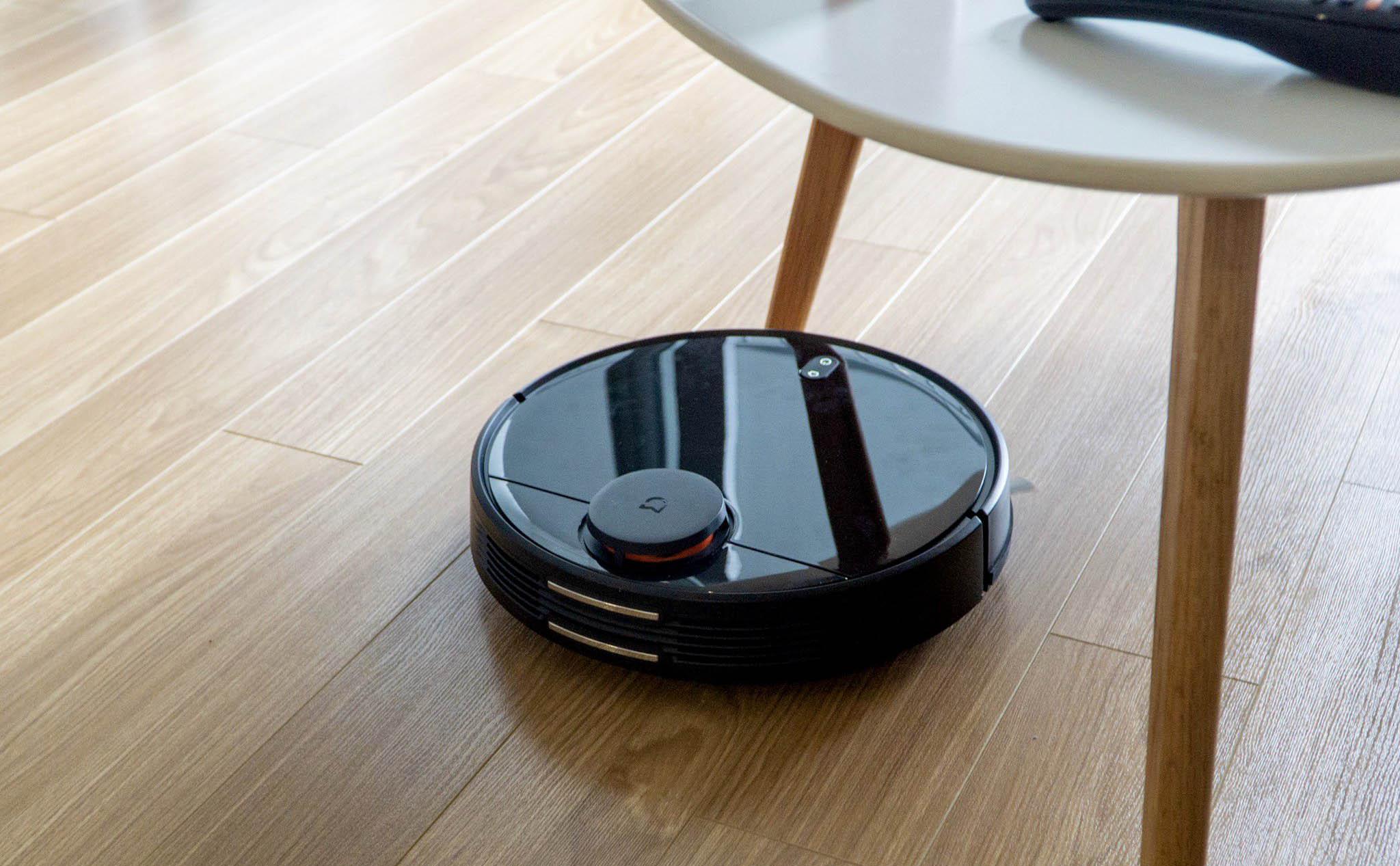 Trên tay robot hút bụi và lau nhà Xiaomi Mijia