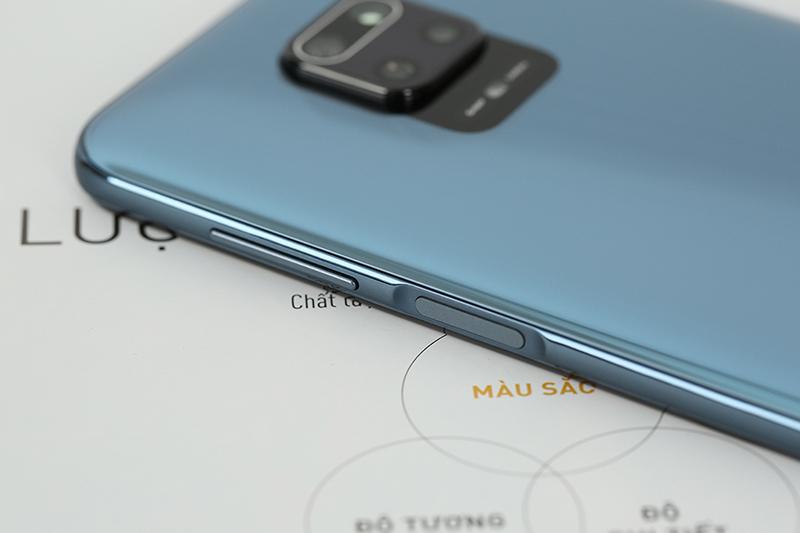 Điện thoại Xiaomi Redmi Note 9 Pro | Thiết kế phím nguồn và tăng giảm âm lượng