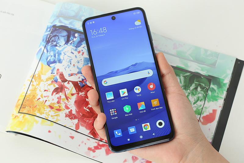 Điện thoại Xiaomi Redmi Note 9 Pro | Giao diện màn hình chính
