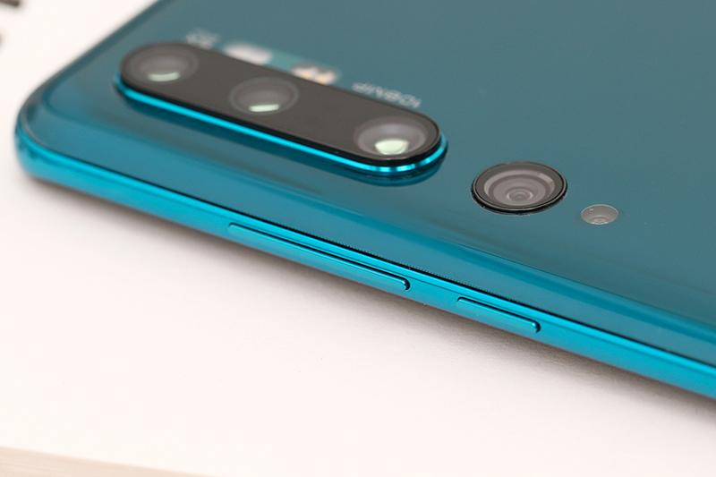 Xiaomi Mi Note 10 Pro | Phần cạnh viền được thiết kế mỏng