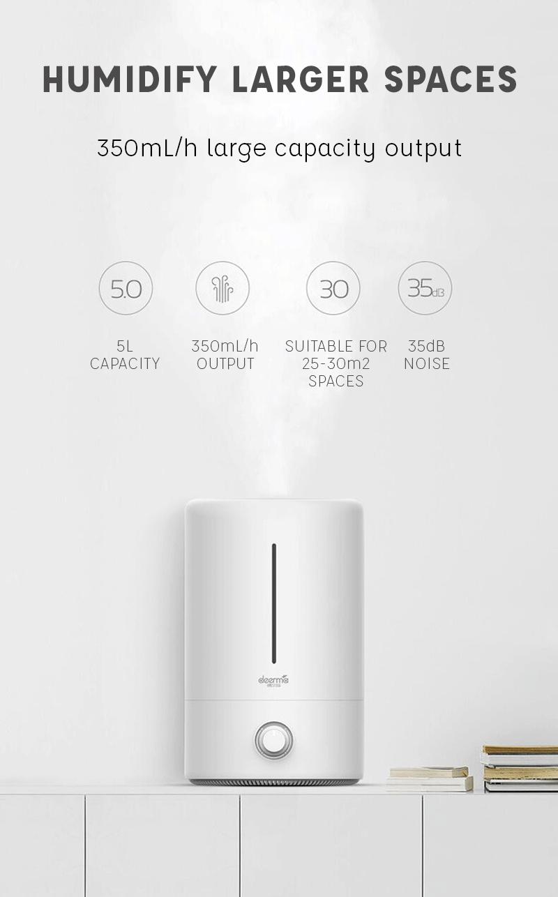 Deerma DEM-F628 Humidifier, 5L